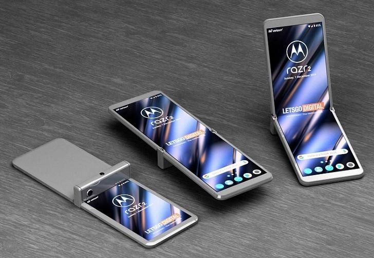 Motorola Razr 2 может отличаться необычным дизайном