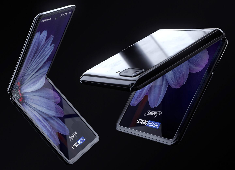 Складной телефон от Samsung