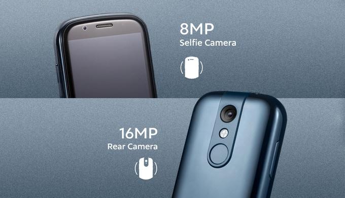 Jelly 2, самый маленький в мире Android 10 4G смартфон