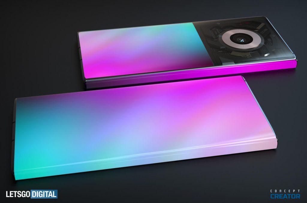 Смартфон Xiaomi Mi Mix с двойным дисплеем