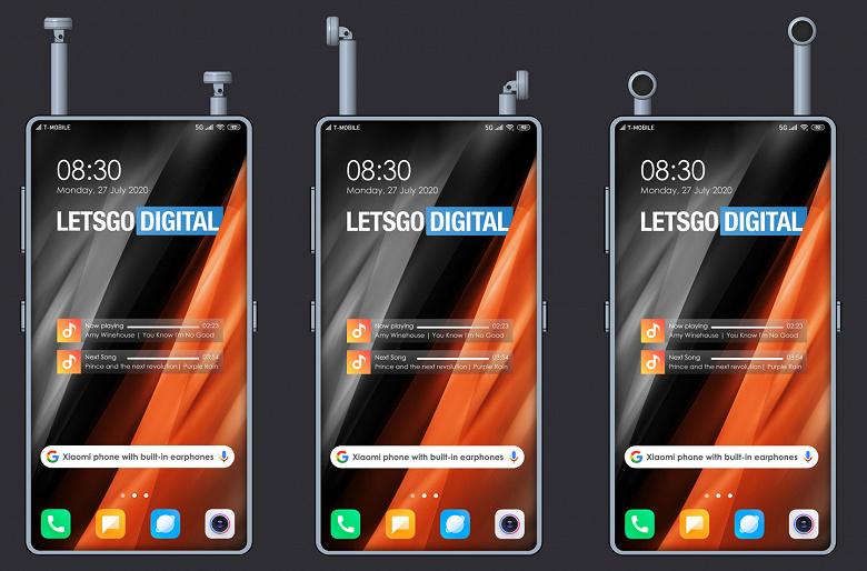 Смартфон для меломана: Xiaomi сделала отсеки для наушников прямо в смартфоне