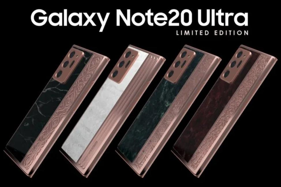 Caviar представляет четыре Galaxy Note20 Ultra, посвященных знаменитым достопримечательностям