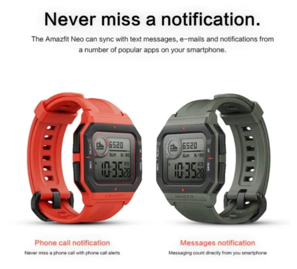 Amazfit Neo - часы в стиле ретро с расширенными функциями