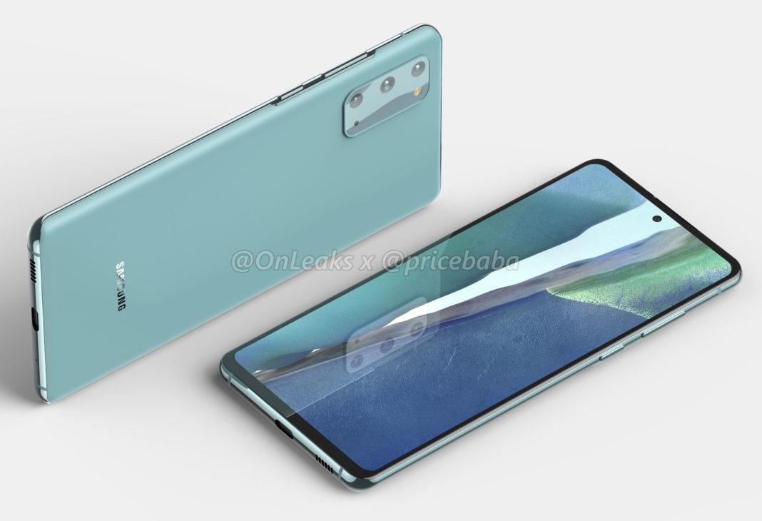В сеть попали рендеры в высоком разрешении Galaxy S20 FE 5G