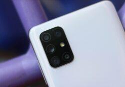 Galaxy A72 дебютирует как первый телефон Samsung с пятью задними камерами