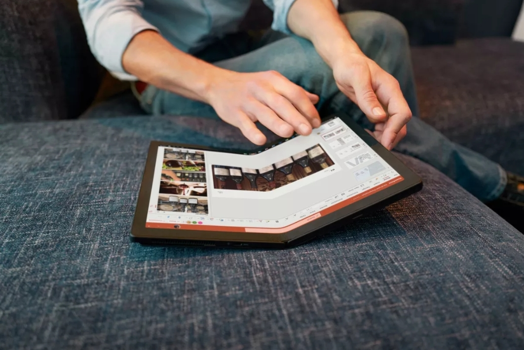 Первый в мире складной ПК теперь доступен для заказа у Lenovo