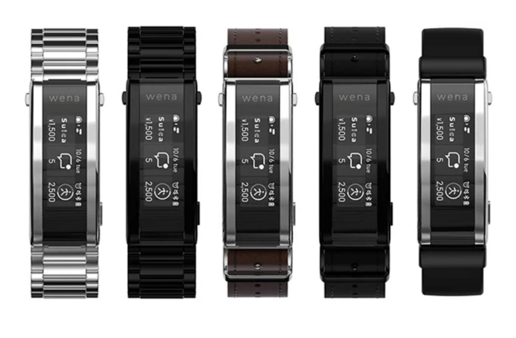 Смарт-браслет Sony Wena 3 Smart Band для традиционных часов