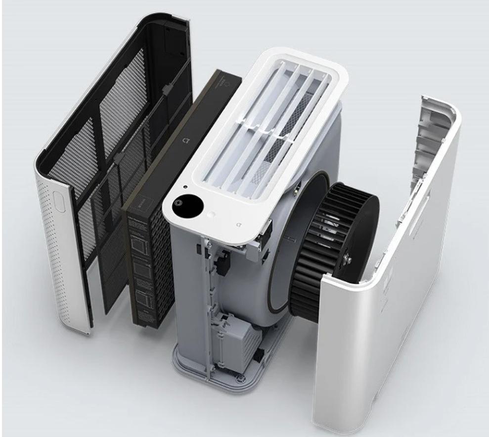Последний воздухо-очиститель MIJIA Air Purifier X от Xiaomi выглядит как миниатюрный ПК в корпусе башни