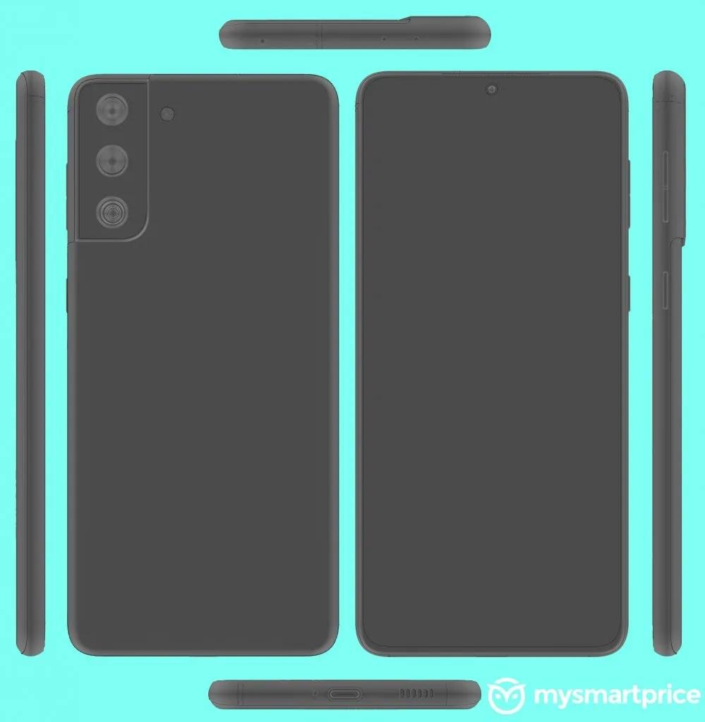 Первые рендеры Samsung Galaxy S30 Plus