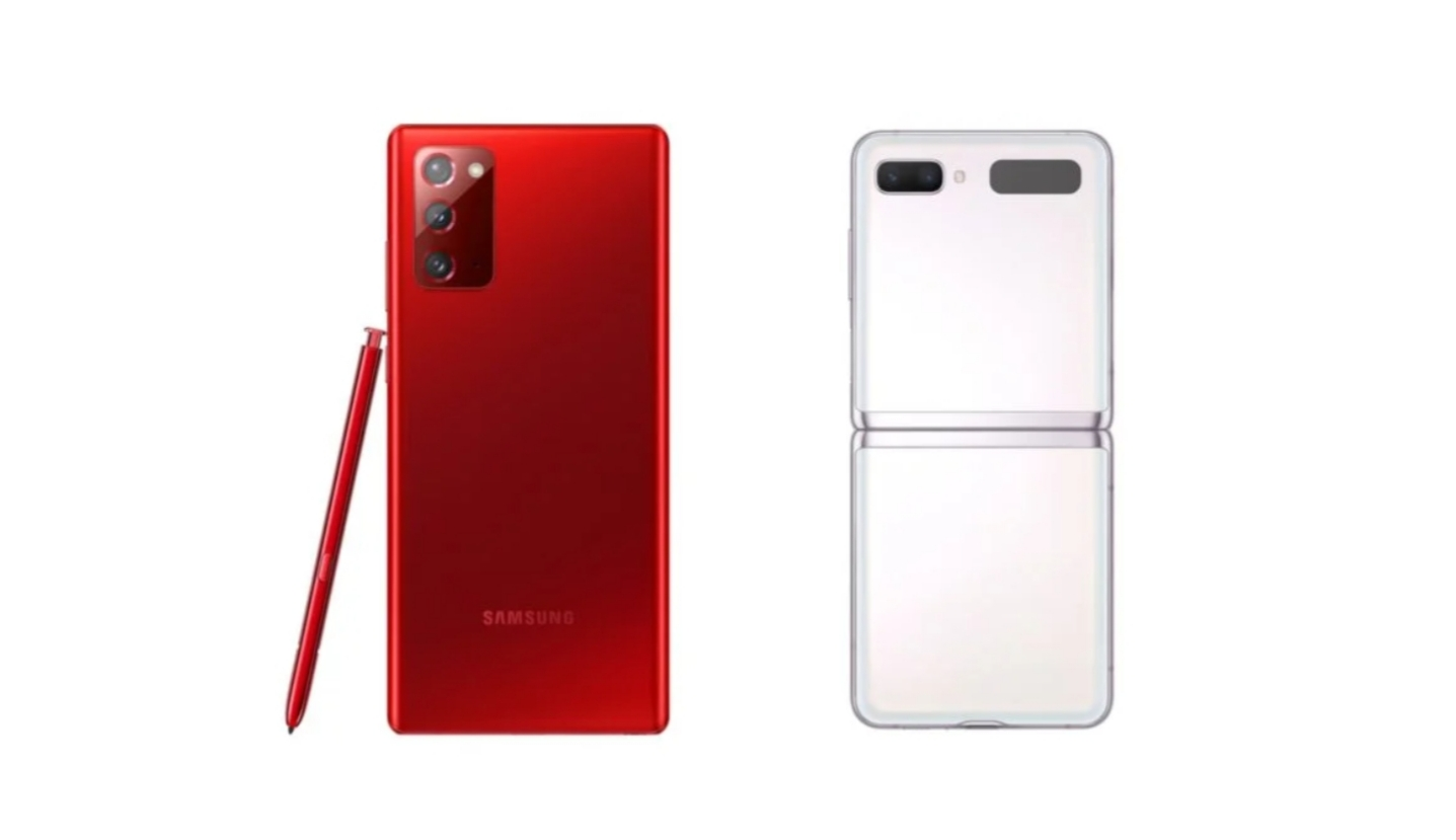 Galaxy Note20 Mystic Red и Galaxy Z Flip 5G Mystic White теперь доступны в США
