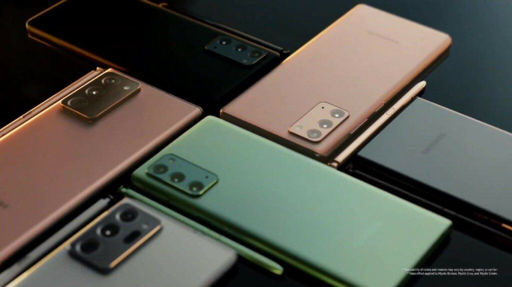 Официальный представитель Samsung сообщил, что Galaxy Note будет готов к 2021 году