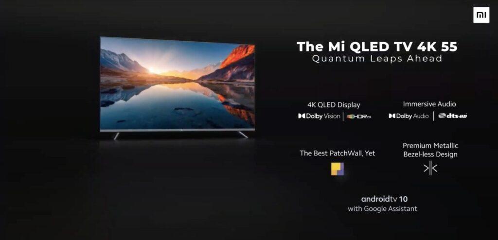 Xiaomi Mi QLED TV 4K дебютирует в Индии: что вы получите менее чем за 800 долларов?
