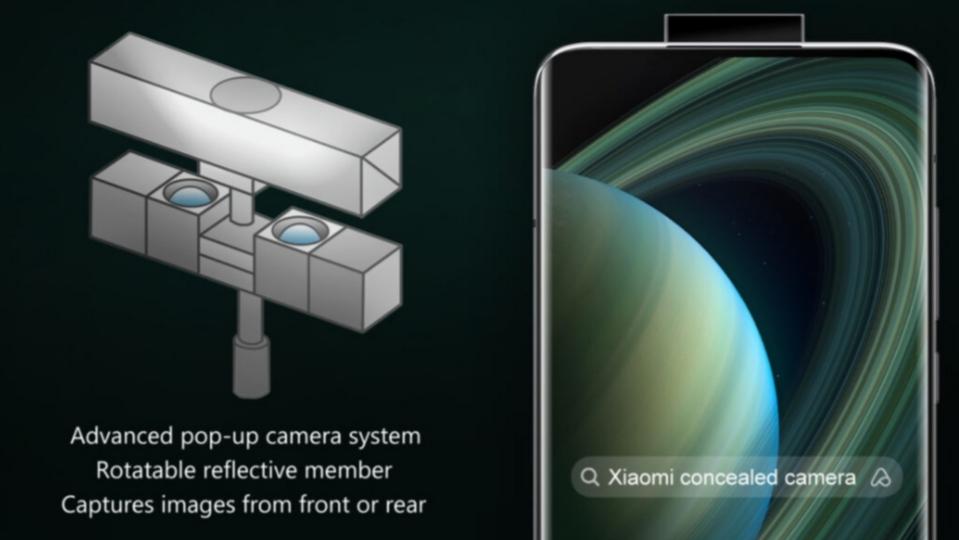 Xiaomi запатентовала выдвижной модуль камеры с отражающим зеркалом