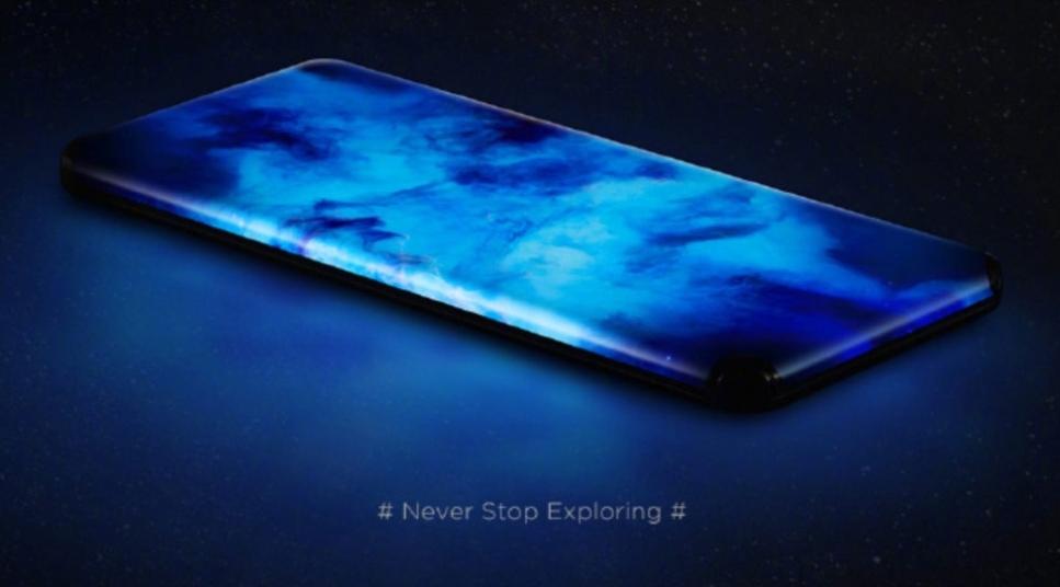 Xiaomi представляет концептуальный телефон без порта с четырехсторонним дисплеем-водопадом