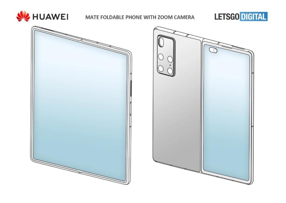 Ранние характеристики Huawei Mate X2, утечка дизайна