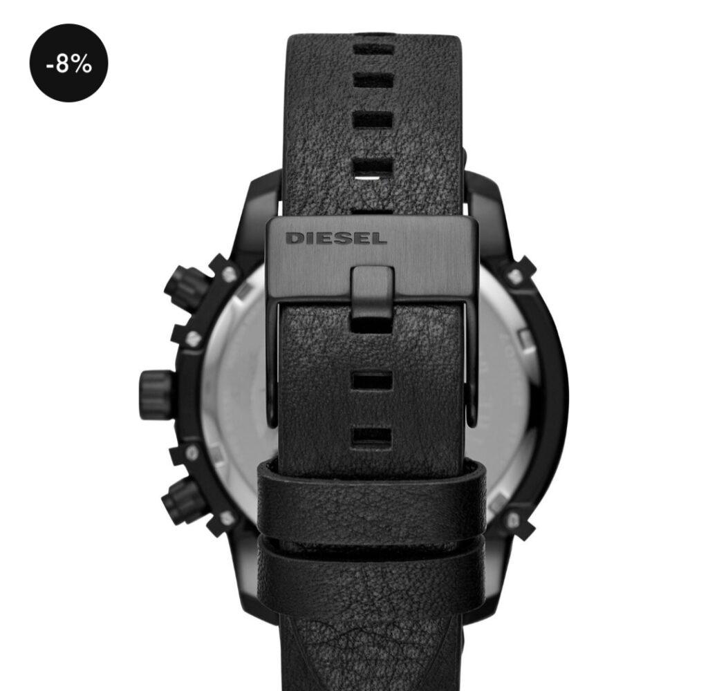 Diesel Analog Black мужские часы с большим циферблатом-лучший подарок