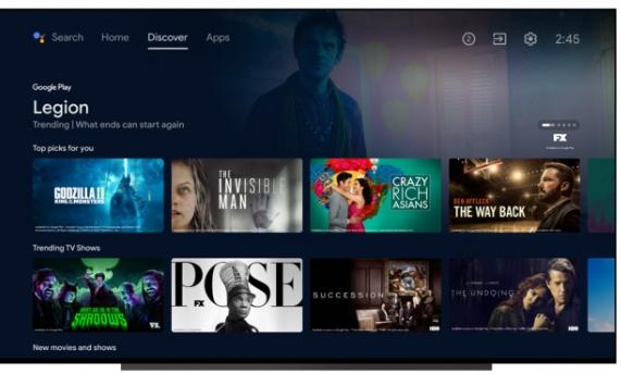 Android TV теперь обновляется в стиле Google TV