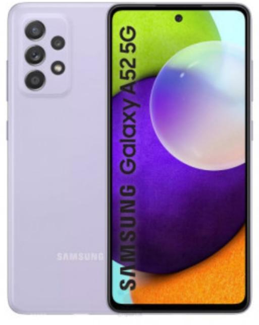 Рендеры Galaxy A52 демонстрируют забавные цвета и три задние камеры