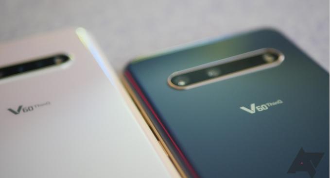 LG начинает поставлять Android 11 на свои телефоны в США, начиная с V60