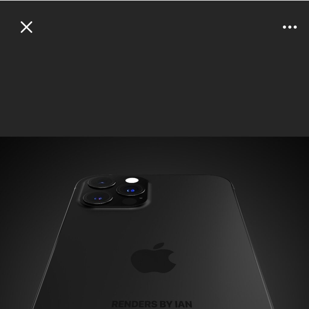 iPhone 13 Matte Black: анонс нового iPhone, который выйдет в сентябре