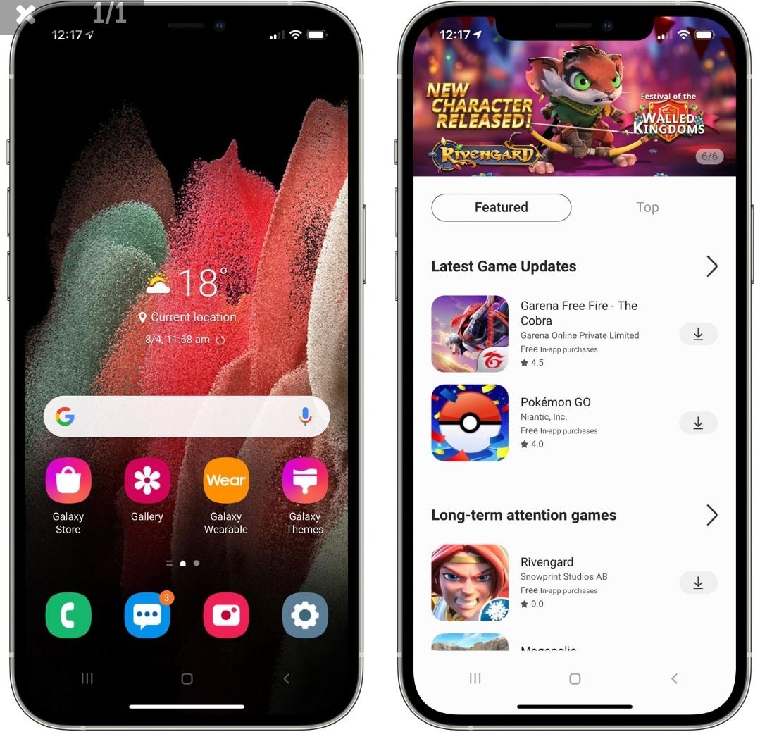Samsung переносит Android на iPhone с веб-приложением